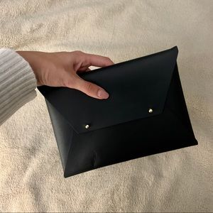 Tribe Alive Black Envelope Style Clutch